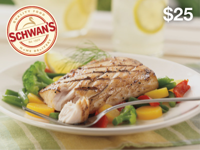 $25 Schwan's eGift Card