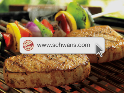 Shop Online With Schwan's Home Delivery (Bonus 90 day annuity)